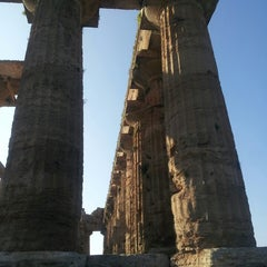 Photo taken at Area Archeologica di Paestum by Veera R. on 10/29/2013