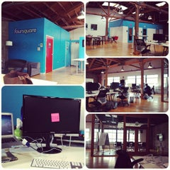 Photo taken at Foursquare SF by Elyse E. on 9/25/2012