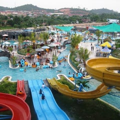 Photo taken at Labersa Water Park by Nina H. on 5/24/2015