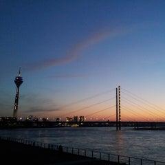 Photo taken at Rheinufer by Pierreee f. on 3/26/2013