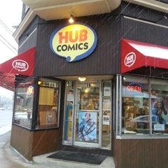 Photo taken at Hub Comics by Kapado F. on 2/3/2014