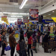 Photo taken at hypermart by Masahiro K. on 11/23/2014