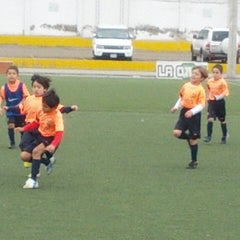 Photo taken at FCB escola by Juan T. on 10/26/2013