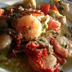 Photo taken at Abalonetti Seafood Trattoria by Hidekazu I. on 8/14/2013