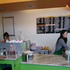 Photo taken at Ocha Tea Café by Hidekazu I. on 4/23/2013