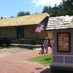 Photo taken at Dallas Heritage Village by Anastasia N. on 7/4/2014