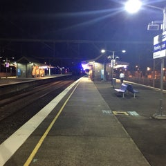 Photo taken at Flemington Station by Pavel K. on 7/28/2015