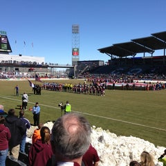 Photo taken at Dick's Sporting Goods Park by Peter S. on 3/10/2013