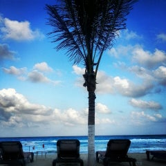 Photo taken at Avalon Grand Cancún by Karla R. on 4/1/2013