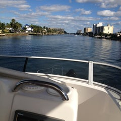 Photo taken at Intracoastal Waterway by Dana W. on 2/2/2013