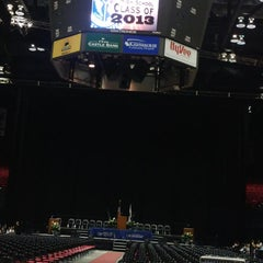 Photo taken at Convocation Center by Shahzoor A. on 6/1/2013
