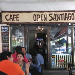 Photo taken at Cafe Open Santiago by Jorge J. on 2/7/2014