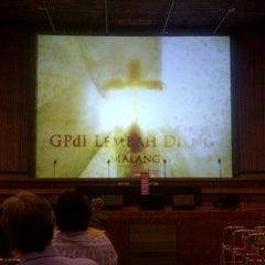 Photo taken at GPdI Lembah Dieng by Paulus O. on 11/17/2012