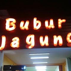 Photo taken at Bubur Jagung by Vicka R. on 6/8/2013