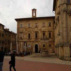 Photo taken at Piazza Grande by Tiziano C. on 4/25/2013