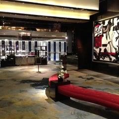 Photo taken at The Ritz-Carlton, Hong Kong by Maria O. on 11/25/2012