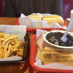 Photo taken at Black Bean Cuban Cafe by Kristi G. on 1/5/2013