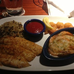 Photo taken at Red Lobster by Chandu K. on 1/24/2013
