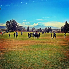 Photo taken at Rancho Cucamonga Pop Warner Field by Backstage Gabe ♚. on 8/24/2013