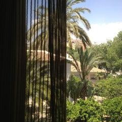 Photo taken at Hotel Spa Jardines de Lorca by Adriana M. on 6/7/2013