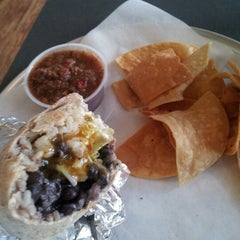 Photo taken at Hightide Burrito Co. by Greg L. on 2/11/2013