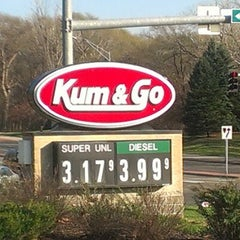 Photo taken at Kum & Go by Jamie G. on 10/28/2012
