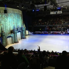 Photo taken at The Oncenter War Memorial Arena by Marcello P. on 1/5/2013