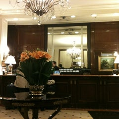 Photo taken at Plaza Hotel Buenos Aires by Eduardo F. on 8/6/2012