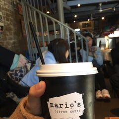 Photo taken at Mario's Coffee House by Narissara P. on 9/25/2015
