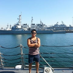 Photo taken at Naval Station San Diego by Julian G. on 9/15/2012