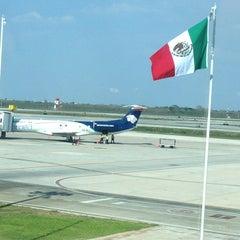 Photo taken at Aeropuerto Internacional de Mérida (MID) by Pablo M. on 3/31/2013