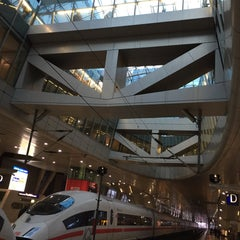 Photo taken at Frankfurt (Main) Flughafen Fernbahnhof by Harald H. on 3/16/2015