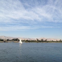 Photo taken at Nile cruise by Elena K. on 1/3/2013