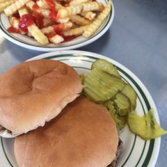 Photo taken at Greene's Hamburgers by Peter F. on 8/26/2014