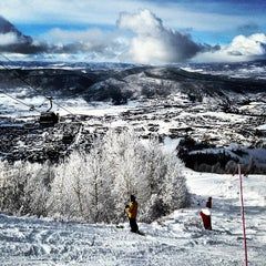 Photo taken at Steamboat Resort by Danny R. on 12/9/2012