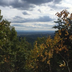 Photo taken at House Mountain Overlook by Zombie on 10/4/2014