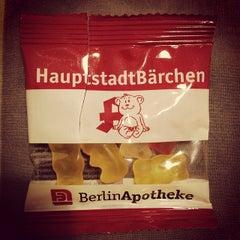 Photo taken at BerlinApotheke Oranienburger Tor by Flavia G. on 4/8/2014
