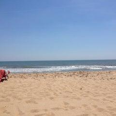 Photo taken at 59th St Beach by Jill R. on 5/26/2014