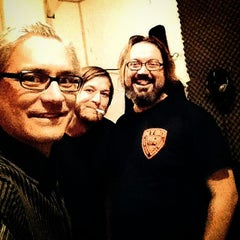 Photo taken at Flood Music Studios by Jason S. on 1/11/2015