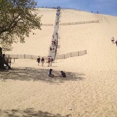 Photo taken at Dune du Pilat by omenanto o. on 4/17/2013