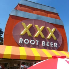 Photo taken at XXX Rootbeer Drive-In by Michael Z. on 5/1/2013