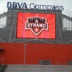 Photo taken at BBVA Compass Stadium by kimstoilis on 10/14/2012