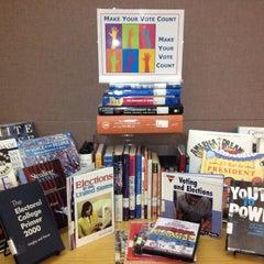 Photo taken at Maribelle M. Davis Library by Susan P. on 9/30/2012
