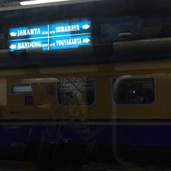 Photo taken at Stasiun Kroya by Chelsea M. on 3/14/2015