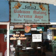 Photo taken at Istana Bakwan Malang Arema Jaya by Eina A. on 11/7/2012