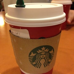 Photo taken at Starbucks by Barb W. on 11/10/2012