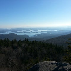 Photo taken at Mt Morgan Summit by Linda B. on 11/18/2012