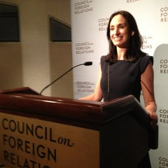 Photo taken at Council on Foreign Relations by Thomas C. on 3/28/2013