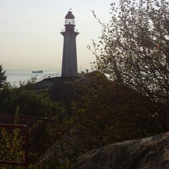 Photo taken at Point Atkinson Lighthouse by Daisy Y. on 9/21/2014
