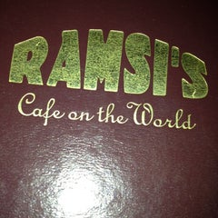 Photo taken at Ramsi's Cafe On the World by Matthew T. on 6/15/2013